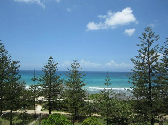Burleigh Mediterranean Resort: View from apartment