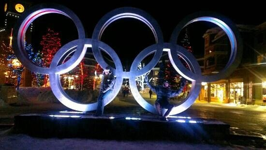 Olympic village in Whistler