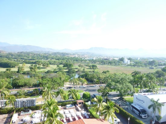 Tesoro Ixtapa:                   View from 6th floor