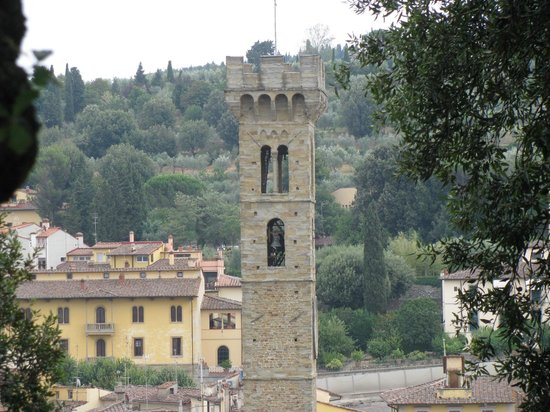 Tree Experience - Parco Avventura Vincigliata :                   Gorgeous view w/ Bell Tower