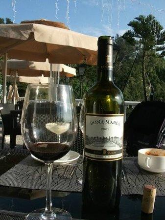 Pousada de Coloane Beach Hotel & Restaurant: Vinho de Alentejo