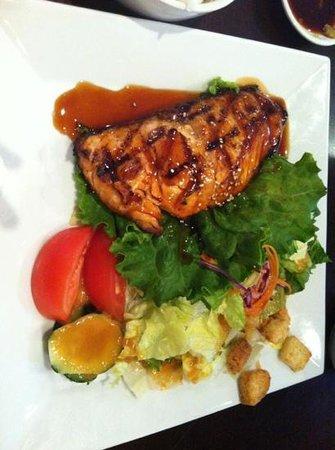 Kabuki Japanese Restaurant: lunch Salmon Teriyaki