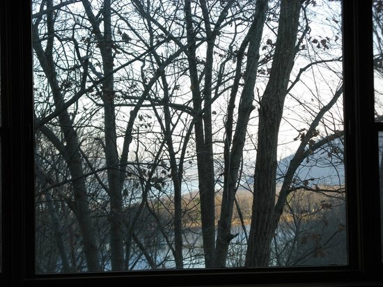Bear Mountain Inn's Overlook Lodge: The view from the room