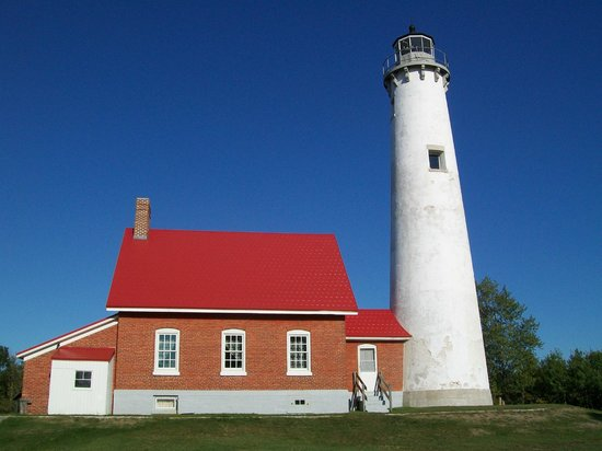 Tawas Point Lighthouse: beautiful lighthouse!