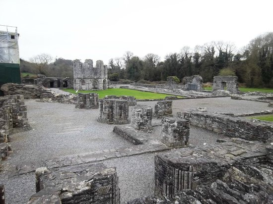 Mellifont Abbey: The Abby's remains