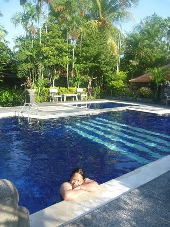 Taman Harum Cottages:                   Morning swim 6.30am!