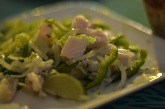 Paradise Moon Bar & Restaurant: Lion Fish Ceviche