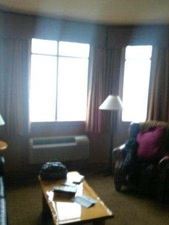 Wilderness at the Smokies Resort: big bay windows