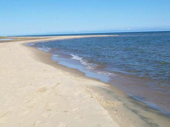 Tawas Point State Park: sugar sand beach
