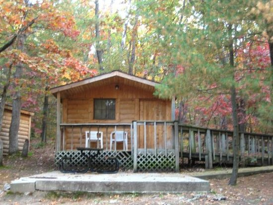 Crockett's Resort Camping: The Cabins
