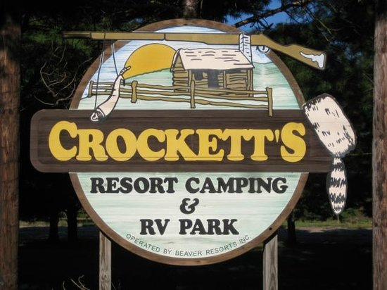 Crockett's Resort Camping : The place to CAMP!