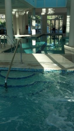 Marriott's SurfWatch:                   indoor pool, in the daytime