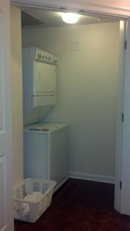 Marriott's SurfWatch:                   inside of laundry room, with door open