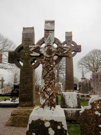 Monasterboice Monastic Site: Interesting High Crosses