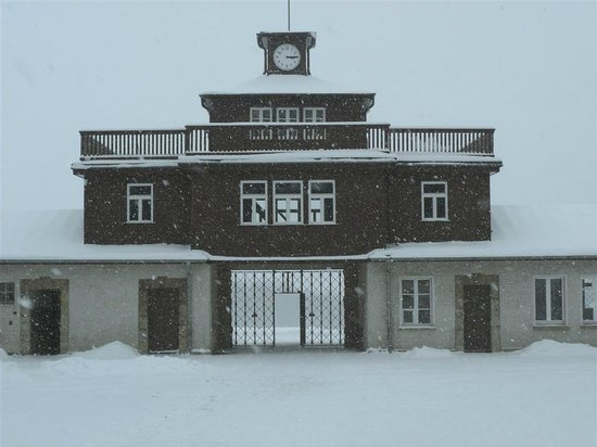 Buchenwald: Guard house Gate