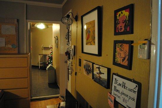 U & I Hostel: Interior