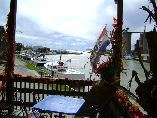 The Wharf: From our patio
