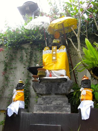 Ananta Legian Hotel:                   Prayer spot