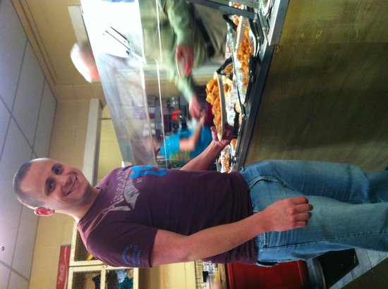 B & J's Steaks and Seafood: Joey at the buffet