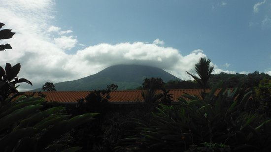 Volcano Lodge & Springs:                   our room view