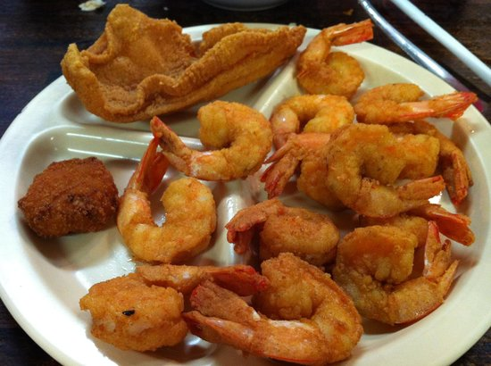 B & J's Steaks and Seafood: Lets eat more!!