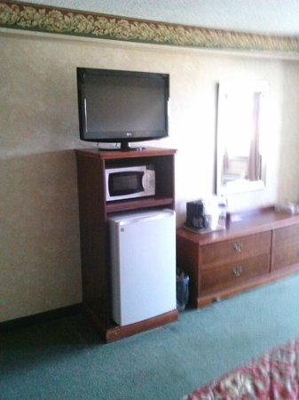 Park Tower Inn: tv/fridge