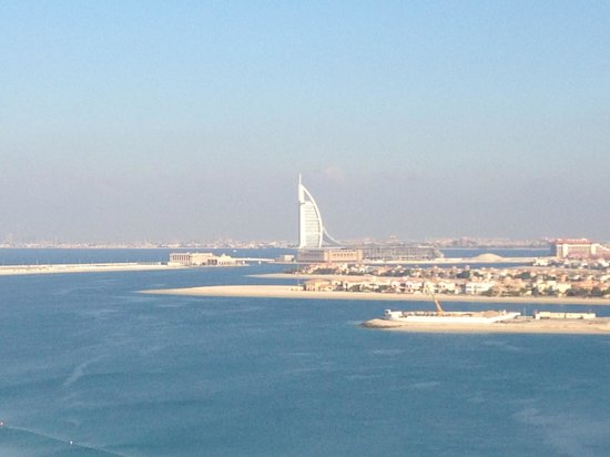 Atlantis, The Palm:                   View from hotel room