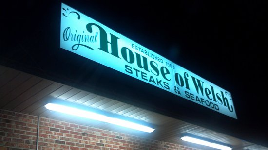 House of Welch: Sign
