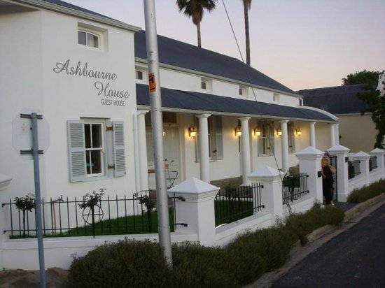 Ashbourne House Guest House:                   Ashbourne House - early evening.