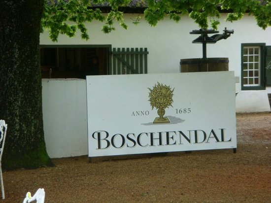 Ashbourne House Guest House :                   A must visit, the Bschendal Winery - established 1685