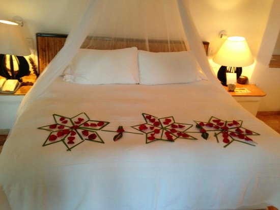 Belmond Maroma Resort & Spa:                   Turndown maroma style