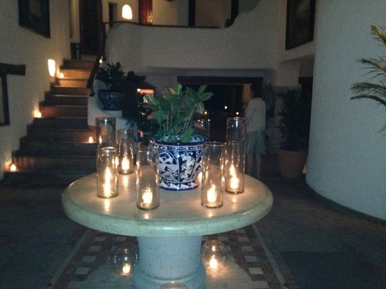 Belmond Maroma Resort & Spa:                   Candles everywhere at night. Peaceful elegance.