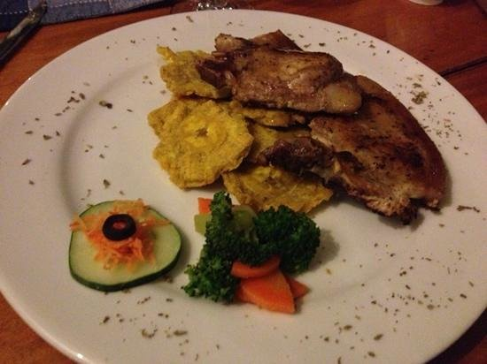 Villa Marina Lodge:                   pork chops
