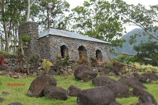 Ozamiz City, Филиппины:                                                       the stone chapel