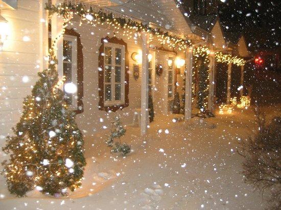 Le Royal Champetre: Le B&B sous la neige.