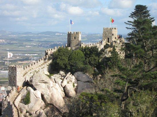 Castle of the Moors : Castelo dos Mouros