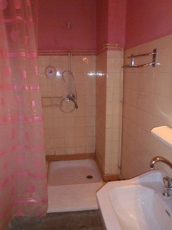 Hotel Millau L'Etape : Shower in hall