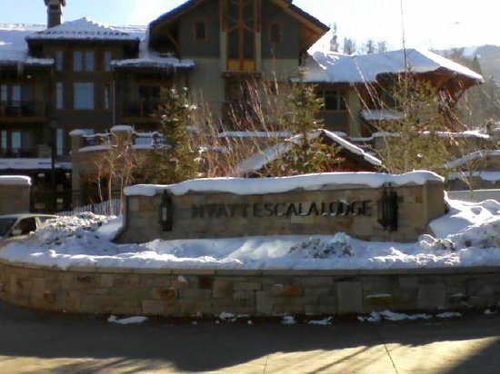 Hyatt Centric Park City:                   Front entrance to property