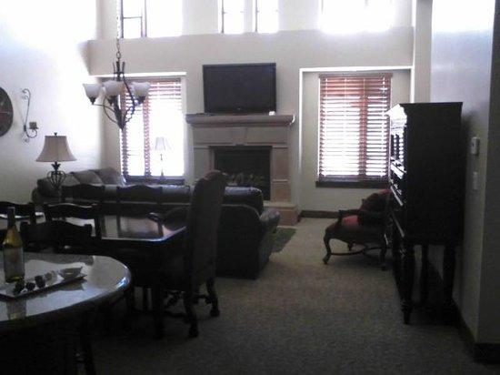 حياة إسكالا لودج آت بارك سيتي:                   Suite family room                 