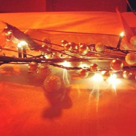 The Corinthian:                   table decoration, Xmas night out