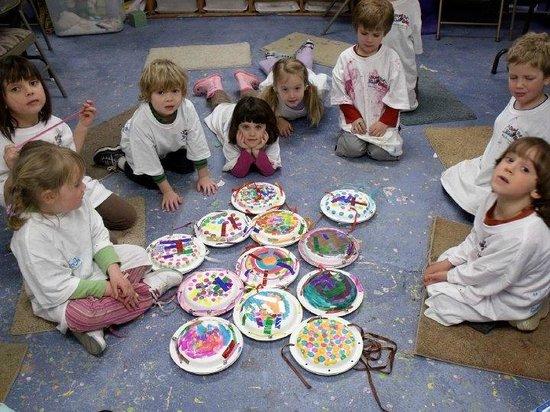 Stumptown Art Studio: Pre-School Classes