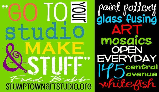 Stumptown Art Studio: Walk in anytime and make something special, you'll be glad you did!