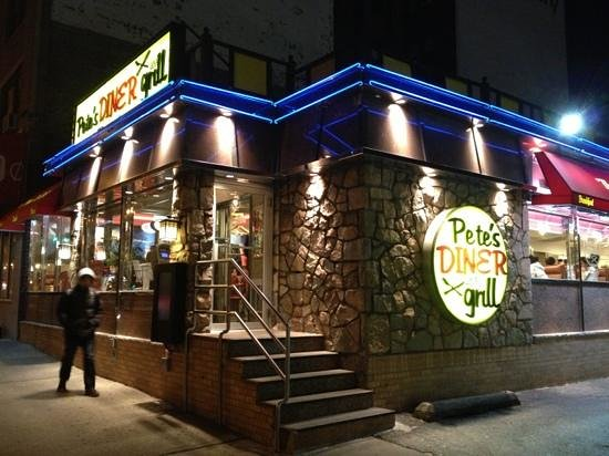 Pete's Grill: The Restaurant, outside