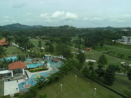 Nilai Springs Resort Hotel:                   View from room 607