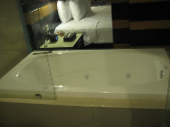 Secrets Huatulco Resort & Spa: tub with panel open