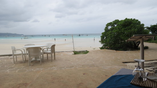Boracay Terraces Resort:                   private beach