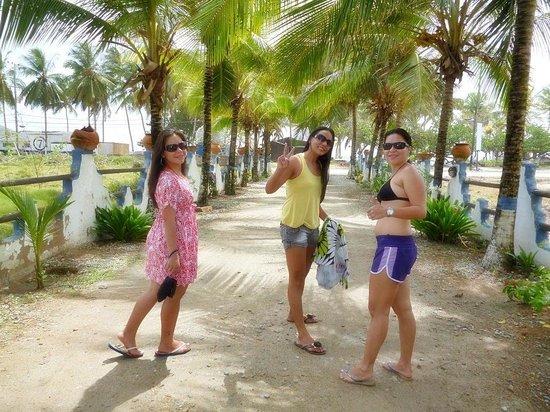 Hotel Coco Paraiso:                   Indo para a praia