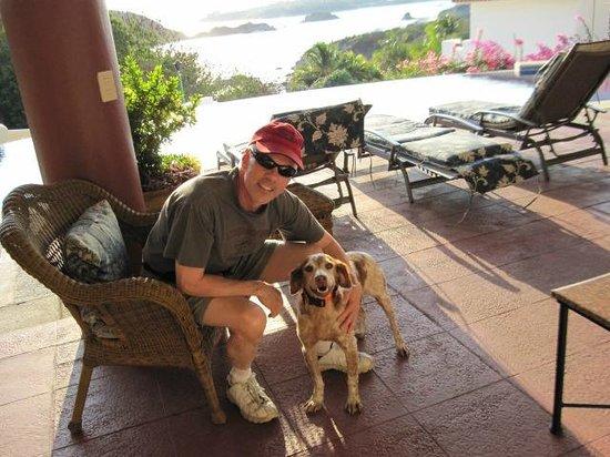 Villa Sol y Mar:                   Ace and me