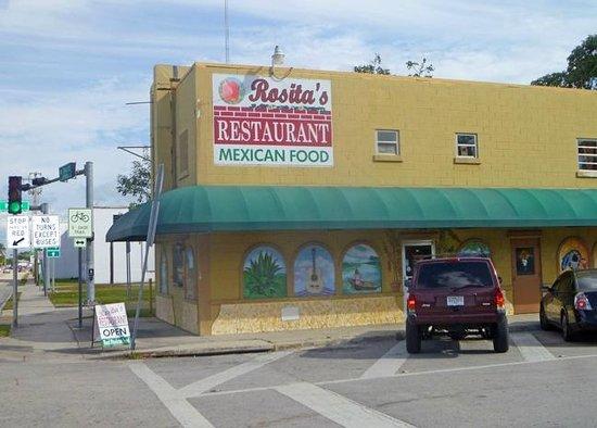 Rosita's Mexican Restaurant:                   exterior