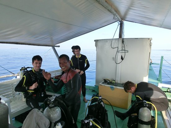 Dive Cal: Getting ready